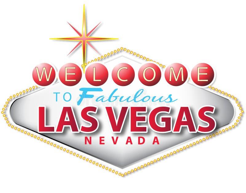 Muestra de Las Vegas stock de ilustración