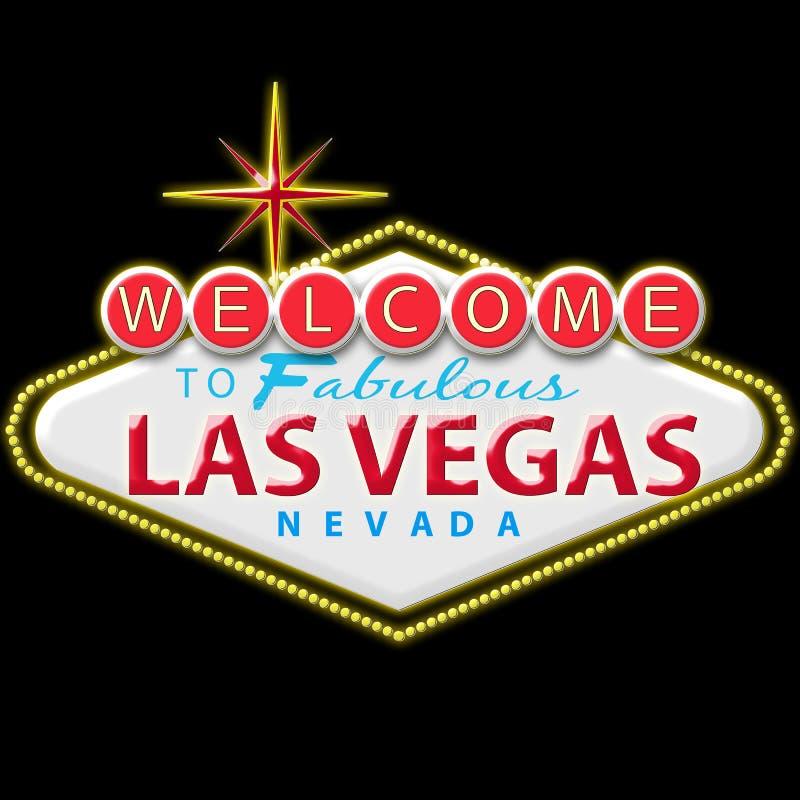 Muestra de Las Vegas ilustración del vector