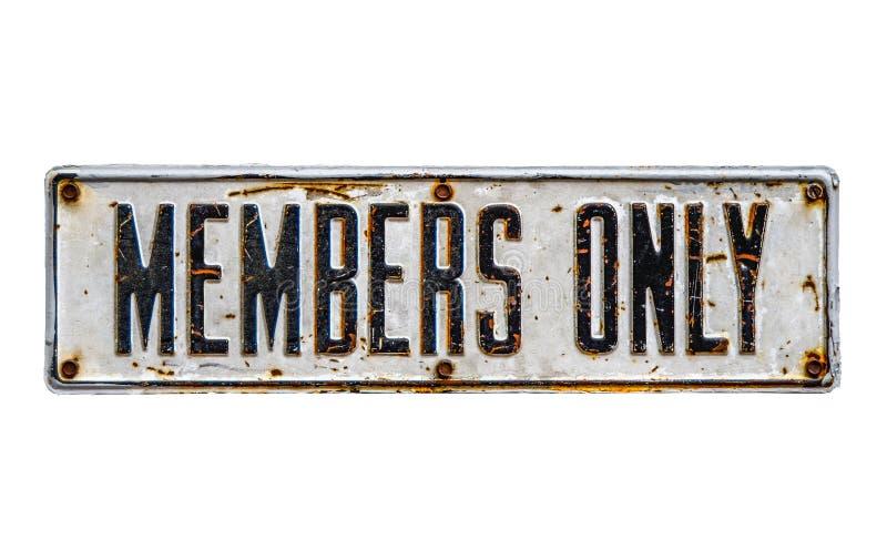 Muestra de los miembros solamente foto de archivo libre de regalías