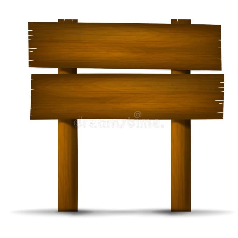 Muestra de madera 003 ilustración del vector