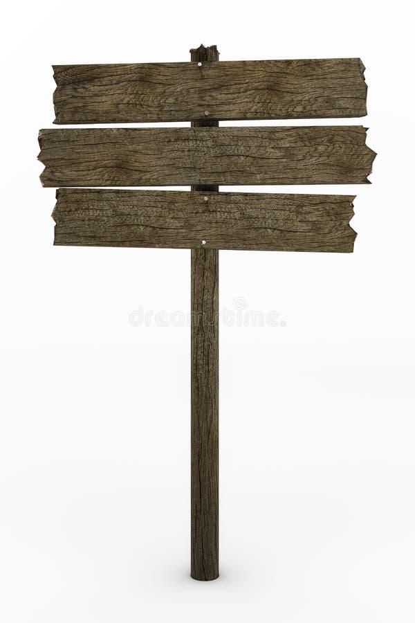 Muestra de madera gastada libre illustration