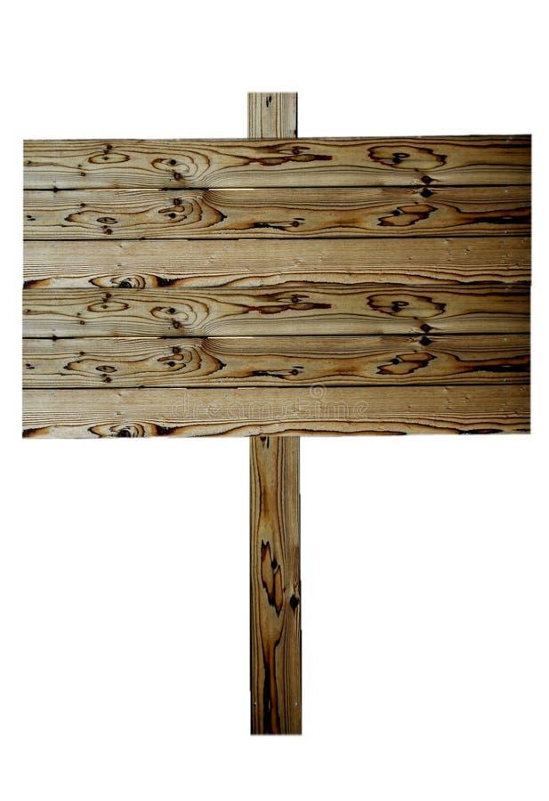 Muestra de madera hermosa de la cerca fotografía de archivo