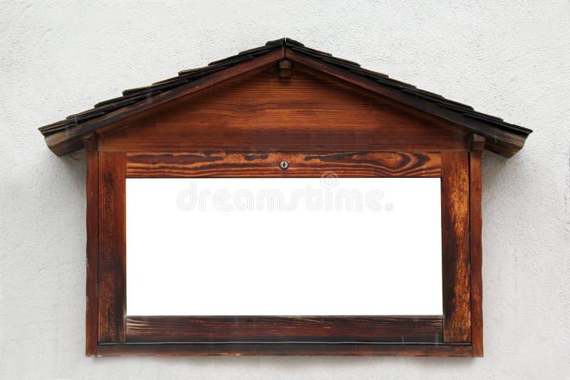 Muestra de madera vacía fotos de archivo