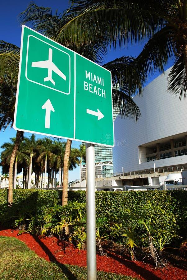 Muestra de Miami Beach imagen de archivo libre de regalías