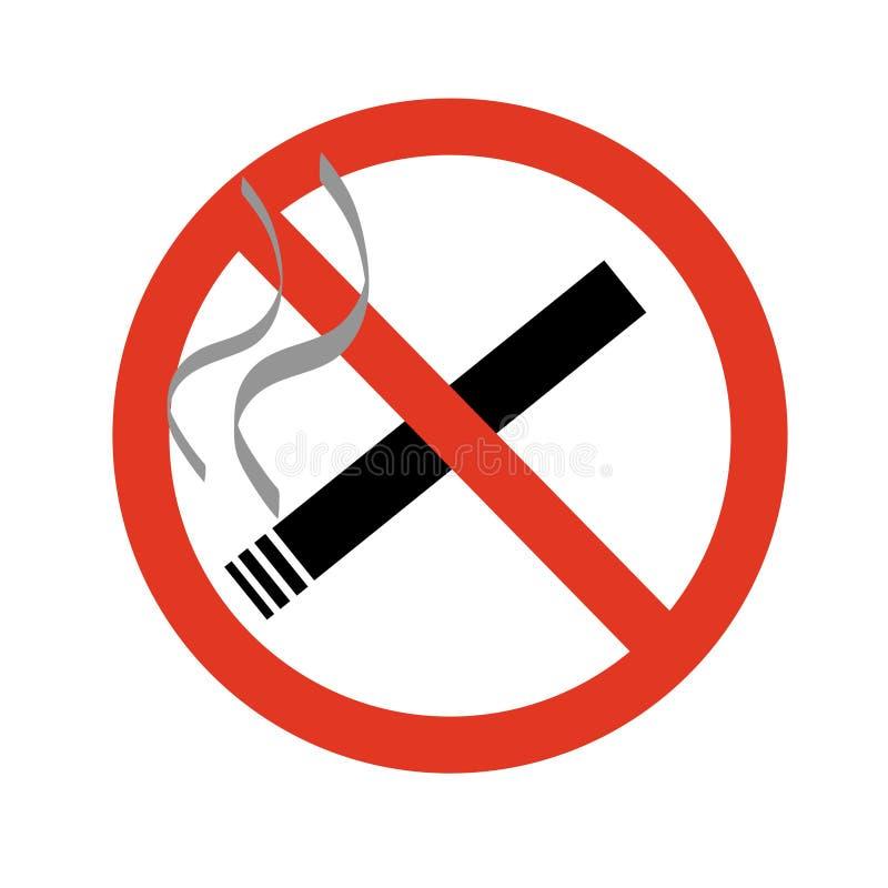 Muestra de no fumadores libre illustration