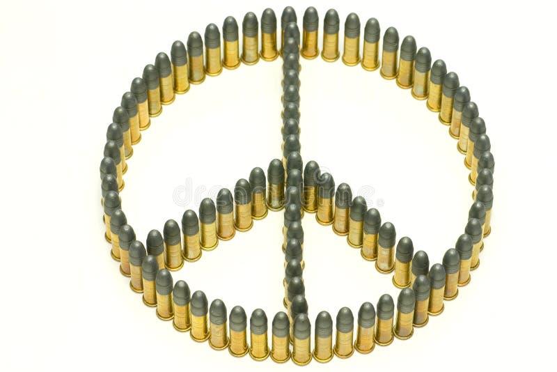 Muestra de paz fotografía de archivo libre de regalías