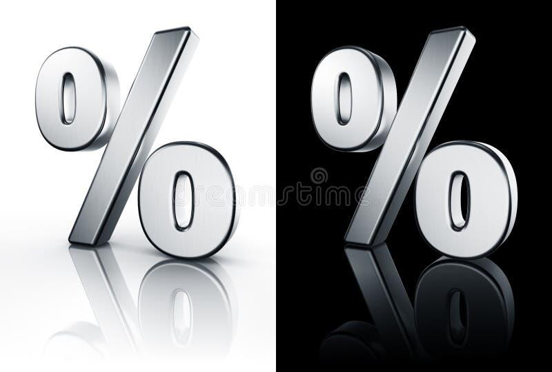 Muestra de porcentaje en el suelo blanco y negro stock de for Suelo 3d blanco