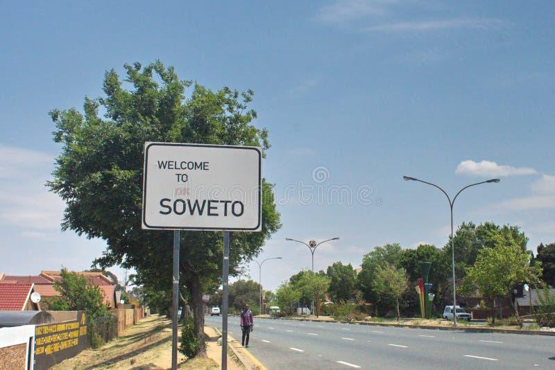 Muestra de Soweto fotografía de archivo libre de regalías