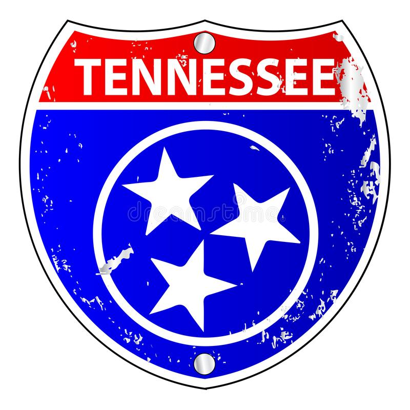 Muestra de Tennessee Flag Icons As Interstate libre illustration