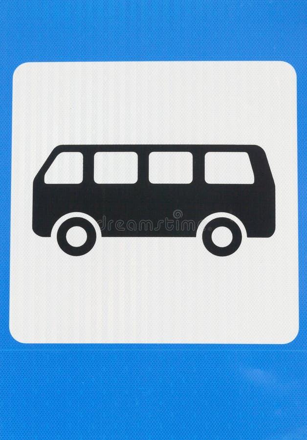 Muestra del autobús fotos de archivo libres de regalías