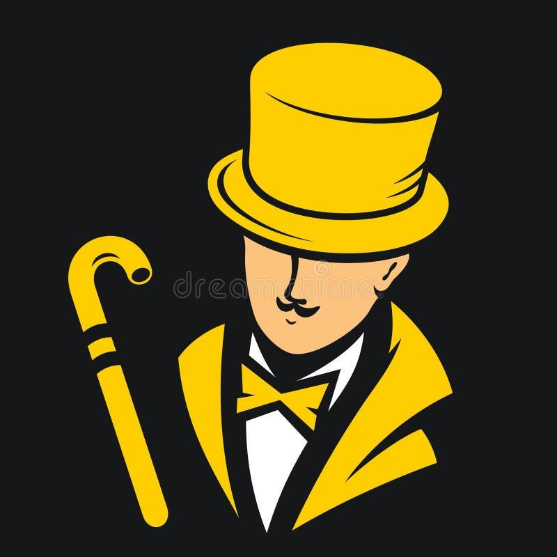 Download Muestra del caballero stock de ilustración. Ilustración de cilindro - 42434970