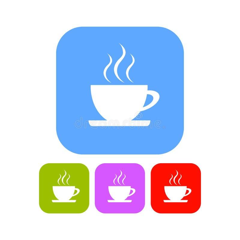 Muestra del café del vector libre illustration