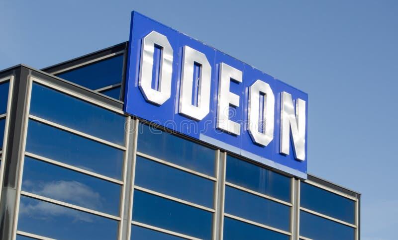 Muestra del cine de Odeon imagenes de archivo