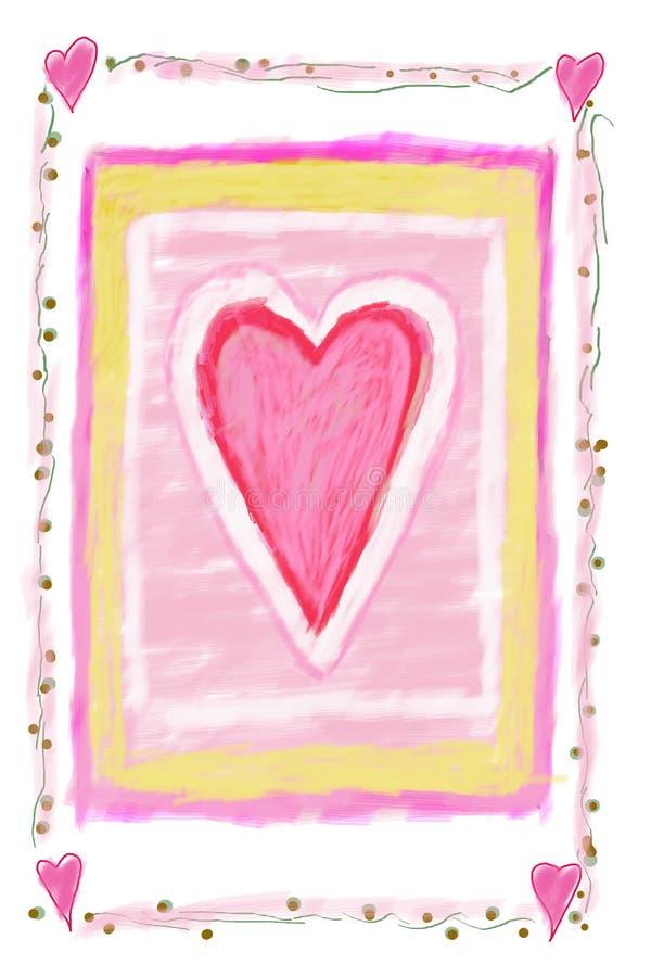 Muestra del corazón libre illustration