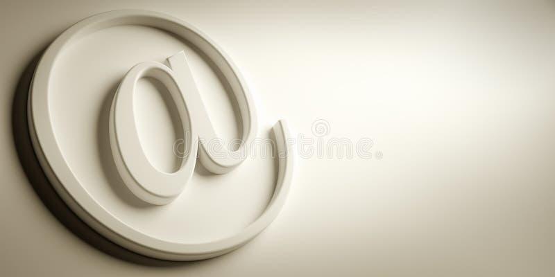 Muestra del correo electrónico libre illustration