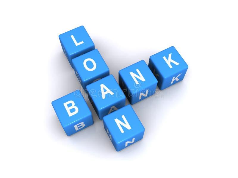 Muestra del crédito bancario foto de archivo libre de regalías