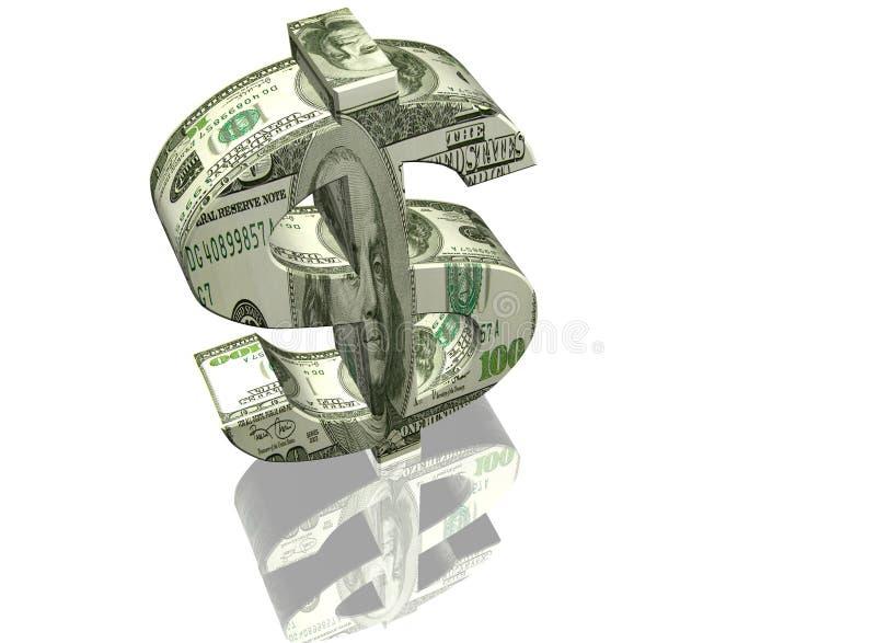 Muestra del dinero fotos de archivo