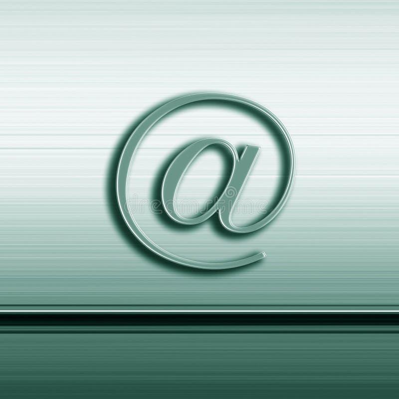 Muestra Del Email Imagen de archivo