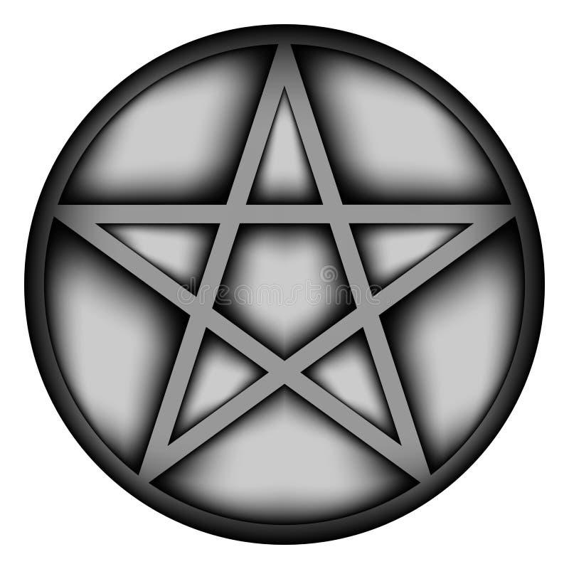 Muestra del icono del Pentagram libre illustration