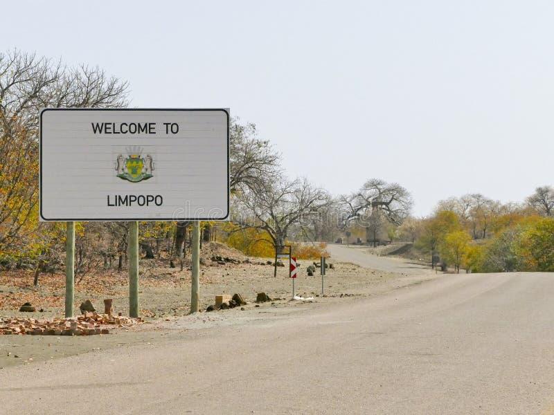 Muestra del Limpopo - destino del viaje en África foto de archivo