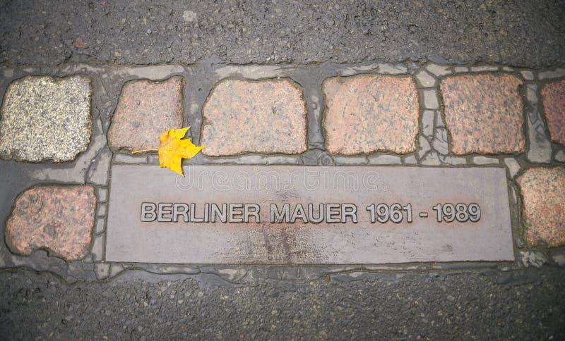 Muestra del muro de Berlín, Alemania fotografía de archivo