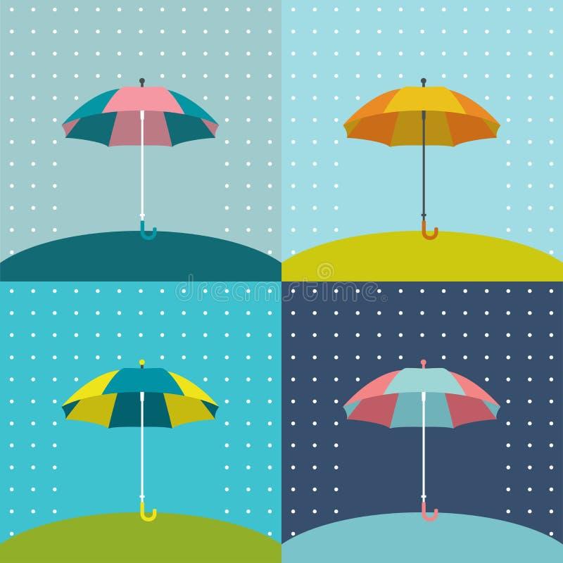 Download Muestra del paraguas ilustración del vector. Ilustración de extracto - 42443470