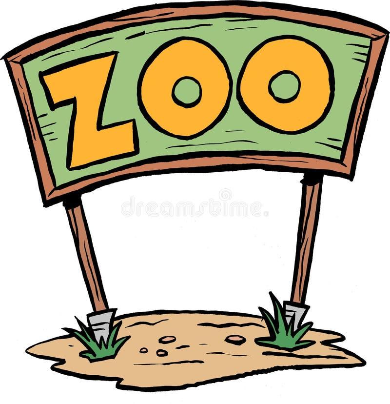 Muestra del parque zoológico foto de archivo