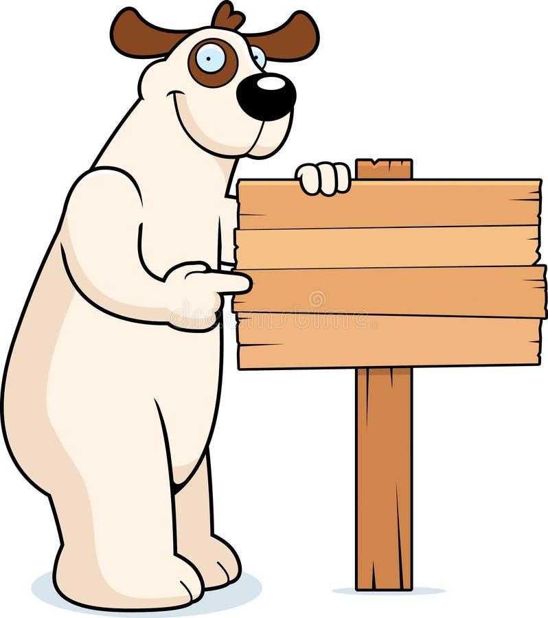 Muestra del perro stock de ilustración