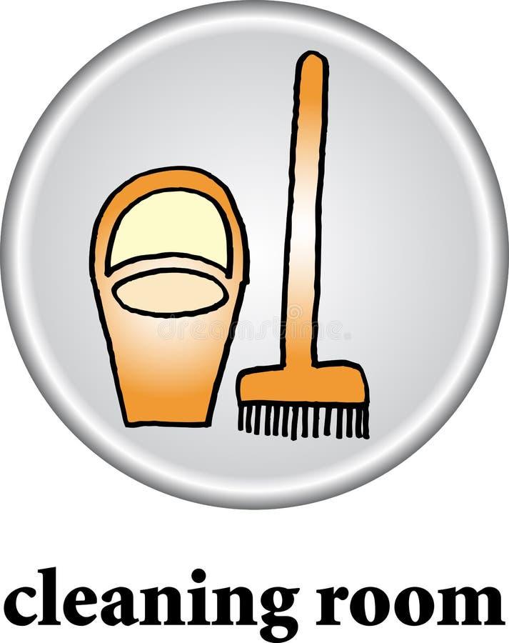 Muestra del sitio de limpieza libre illustration