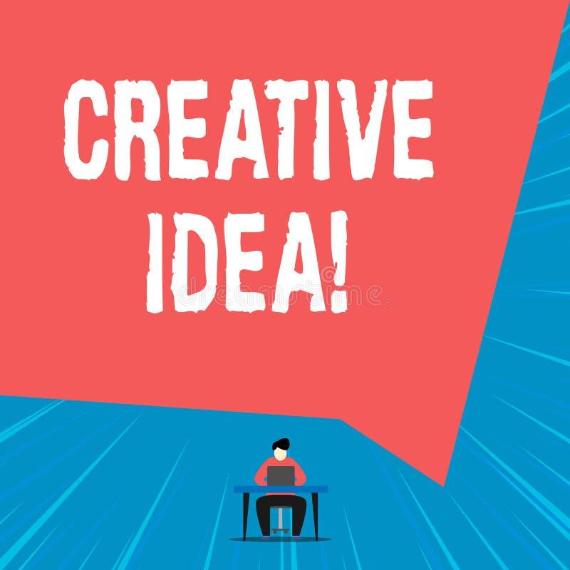 Muestra del texto que muestra idea creativa Foto conceptual el concepto overarching que captura interés de la audiencia ilustración del vector