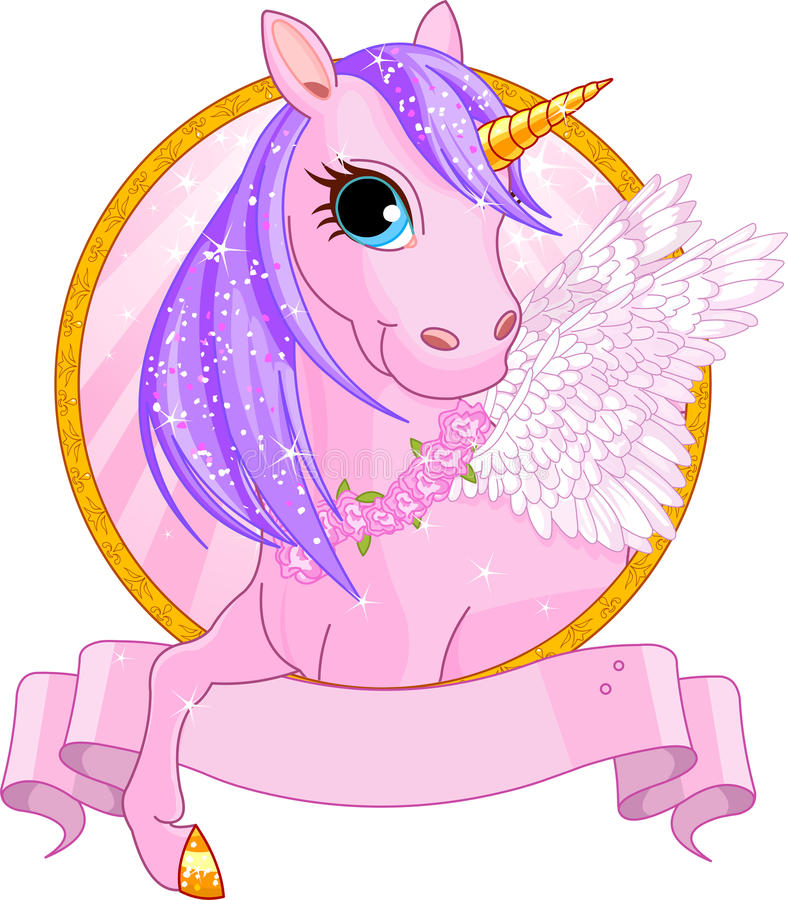 Muestra del unicornio libre illustration