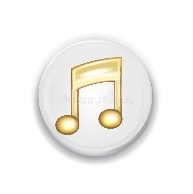 Download Muestra Del Uso De La Música Aislada En Blanco Ilustración del Vector - Ilustración de transporte, sitio: 42439318