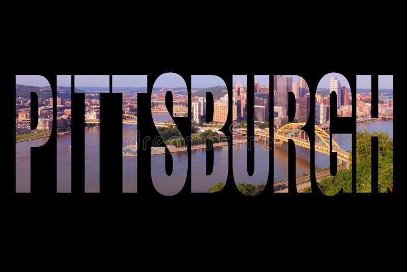 Muestra del viaje de Pittsburgh imagenes de archivo