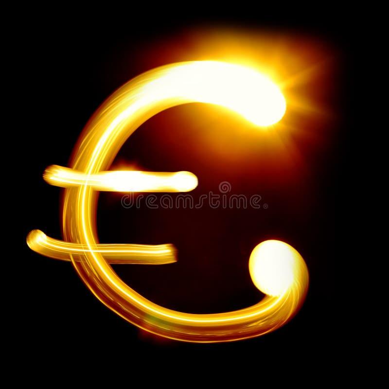 Muestra euro imagen de archivo libre de regalías