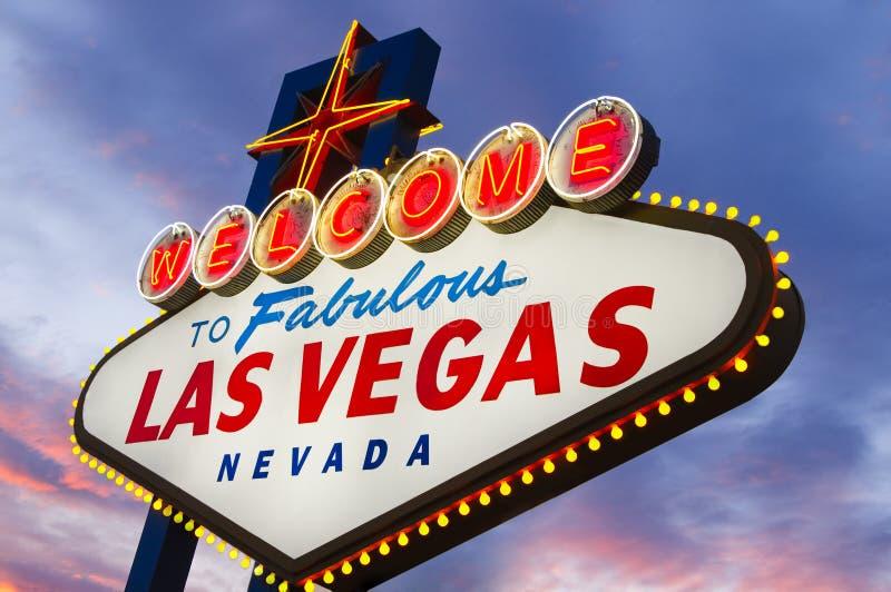 Muestra fabulosa de Las Vegas fotografía de archivo libre de regalías