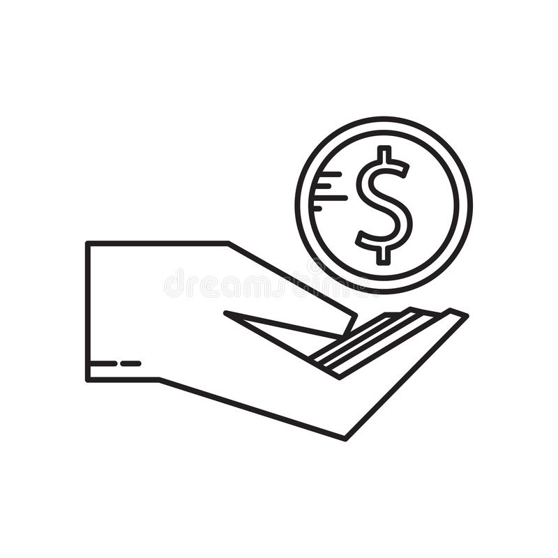 Muestra incentiva y símbolo del vector del icono aislados en el fondo blanco, concepto incentivo del logotipo libre illustration