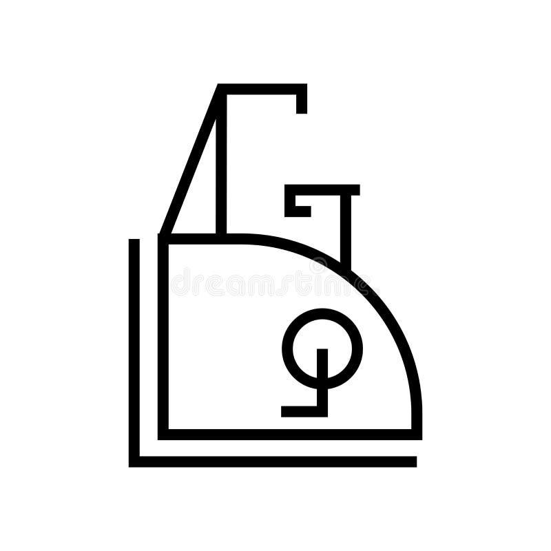 Muestra inmóvil y símbolo del vector del icono de la bici aislados en el fondo blanco, concepto inmóvil del logotipo de la bici libre illustration