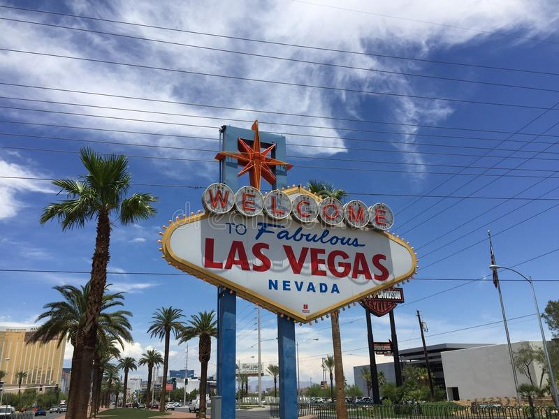 Muestra Nevada los E.E.U.U. de Las Vegas fotografía de archivo