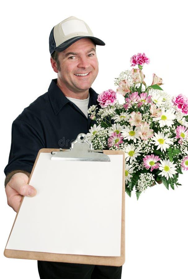 Muestra para la salida de la flor imagen de archivo