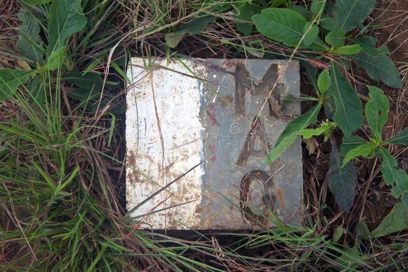 Muestra por el grupo consultivo de las minas fotos de archivo