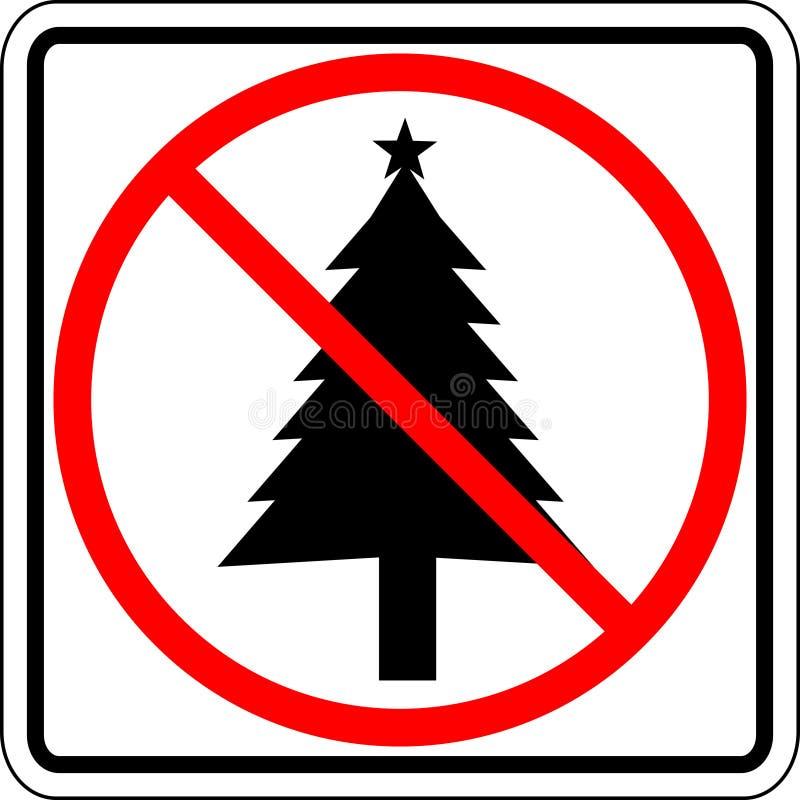 Muestra prohibida la Navidad libre illustration