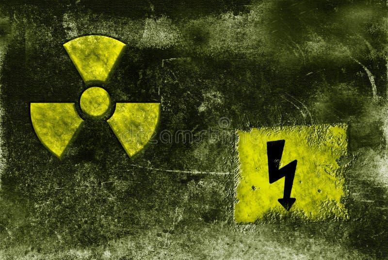 Muestra radioctive de decaimiento fotografía de archivo libre de regalías
