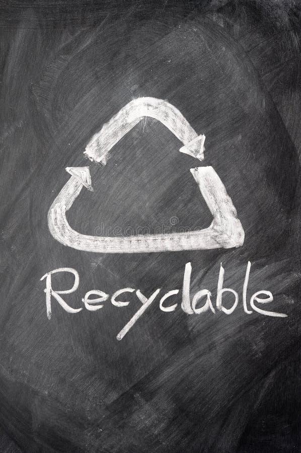 Muestra reciclable imagenes de archivo