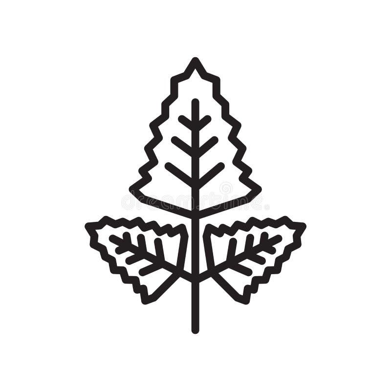 Muestra romboidal y símbolo del vector del icono aislados en el backgroun blanco stock de ilustración
