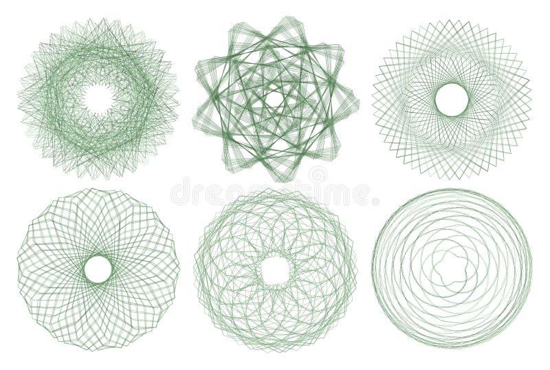 Muestra sagrada de la geometría ilustración del vector