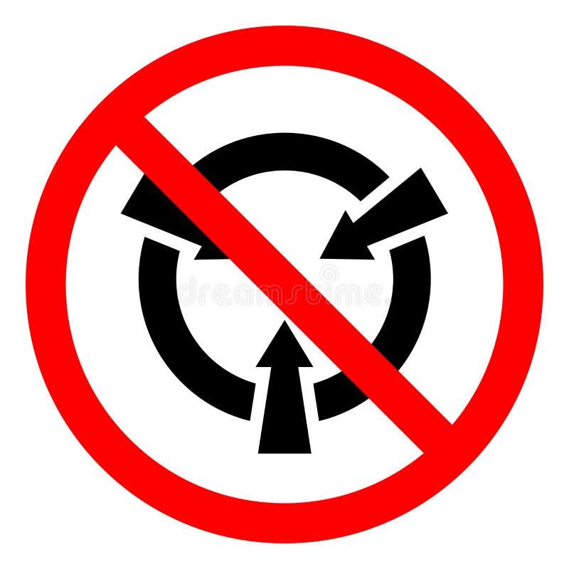 Muestra sensible electrostática del símbolo del ESD del dispositivo del peligro de lesión, ejemplo del vector, aislante en la eti ilustración del vector