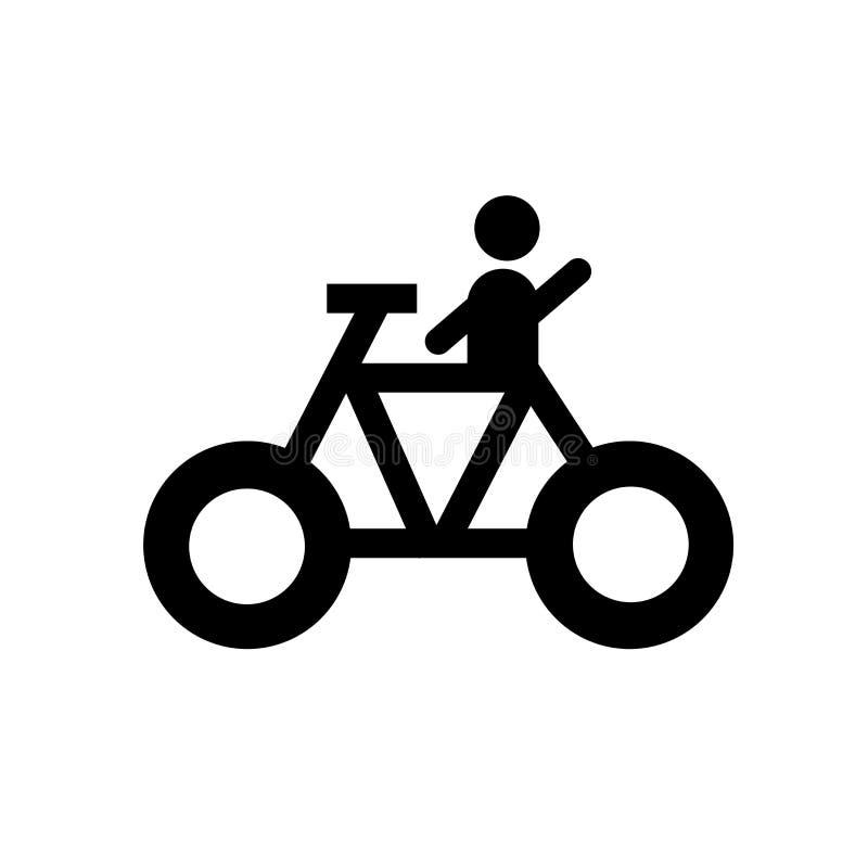 muestra y símbolo de ciclo del vector del icono aislados en el fondo blanco, concepto de ciclo del logotipo ilustración del vector