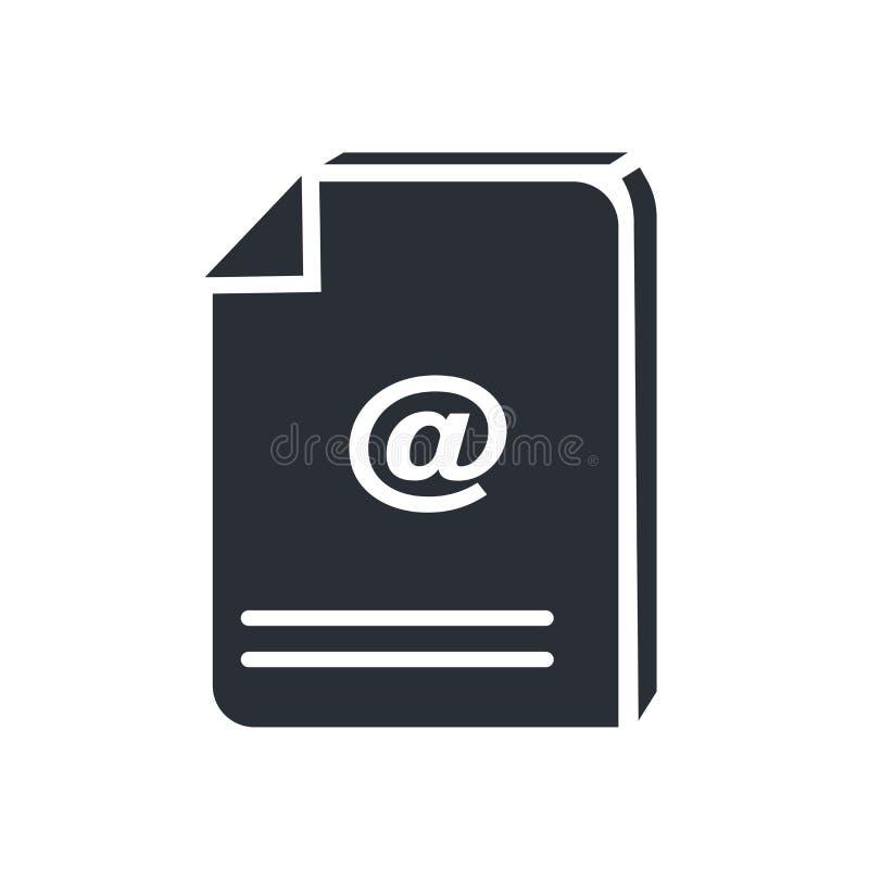 Muestra y símbolo del vector del icono del archivo de la transferencia directa aislados en el fondo blanco, concepto del logotipo stock de ilustración