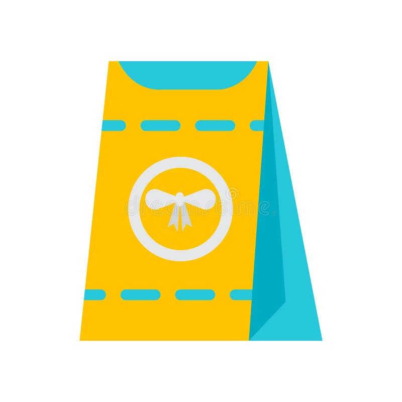Muestra y símbolo del vector del icono del bocado aislados en el fondo blanco, concepto del logotipo del bocado libre illustration