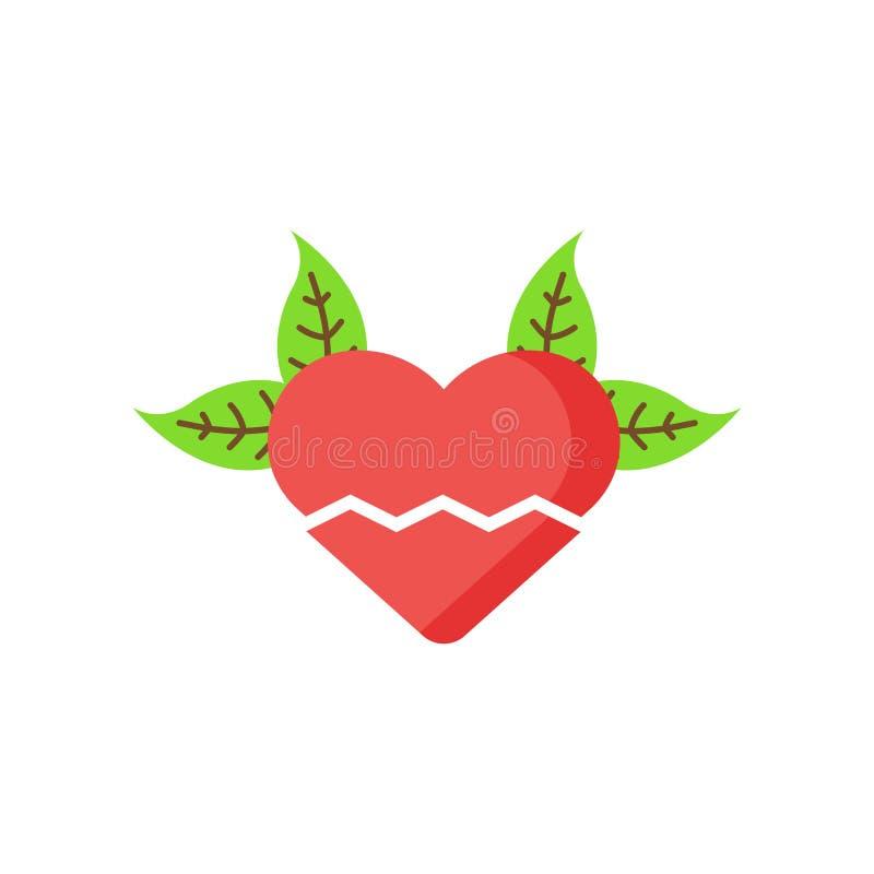 Muestra y símbolo del vector del icono de la angustia aislados en el backgro blanco libre illustration